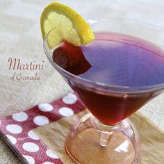 Martini of Granada was the perfect cocktail to a succulent grilled porterhouse steak dinner.  #AllrecipesAllstars