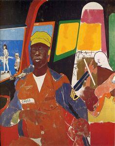 R.B. Kitaj (Ronald Brooks, 1932–2007) ●彡