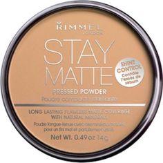 Stay Matte Pressed Powder.