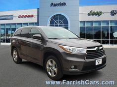 Nice Great 2015 Toyota Highlander Limited Toyota Highlander Predawn Gray Mica with 19,505 Miles, for sale! 2018