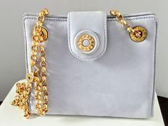 Tiffany & Co Suede Handbag Shoulder Bag by victoriajamesdesigns