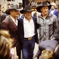 Tim McGraw, George Strait, Garth Brooks.....ACM Awards...2014