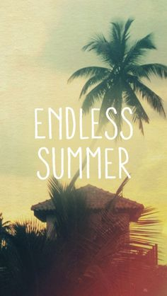 Endless Summer - Tap to see more wallpaper for summer to brighten up your phone! - @mobile9