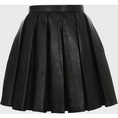 Balmain Pleated peplum-like leather skirt ($4,130) ❤ liked on Polyvore featuring skirts, mini skirts, bottoms, saias, faldas, black, pleated skirt, leather a line skirt, leather miniskirt and a line mini skirt