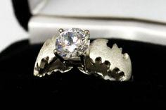 Batman Engagement Ring