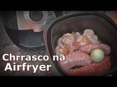 Como fazer Torresmo na Fritadeira Elétrica sem óleo - Air Fryer - YouTube