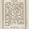 Cigarette-card portrait of Franklin New York Public Library, Portrait, Cards, Headshot Photography, Portrait Paintings, Maps, Playing Cards, Drawings, Portraits