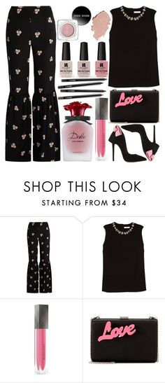"""""""Just a touch of pink"""" by grozdana-v ❤ liked on Polyvore featuring Vilshenko, Victoria's Secret, Erdem, Burberry and STELLA McCARTNEY"""