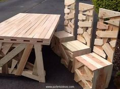 garden furniture from pallets - Google Search