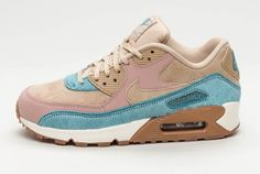 buy popular 102b9 4e6d3 Look Out For The Nike Air Max 90 Smokey Blue Pony Hair
