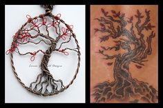 Tattoo Tree (commission) by Louise Goodchild, via Flickr