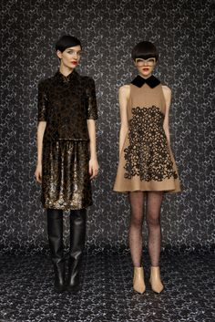 A look from the Louis Vuitton Women's Prefall 2013 collection. Click to see them all.