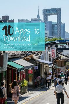 Traveling to South Korea? Here are 10 apps to download when traveling to Korea to help you find your way, order food in Korean restaurants, send packages home to family and friends, and use the Korean subway system.