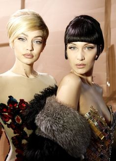 The Real Reason Bella & Gigi Didn't Start Modeling Until They Graduated From High School Fashion Beauty, Girl Fashion, Bella Gigi Hadid, Best Beans, Makeup 2018, Famous Celebrities, All Things Beauty, Pin Up, High School