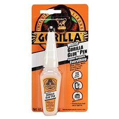 Gorilla White Gorilla Glue Pen, .75 oz., White Gorilla…