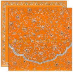Orange wedding invitations   Keywords: #orangeweddings #jevelweddingplanning Follow Us: www.jevelweddingplanning.com  www.facebook.com/jevelweddingplanning/