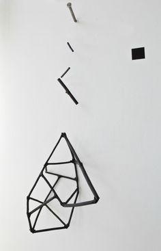 Geometrical Charcoal Mobile