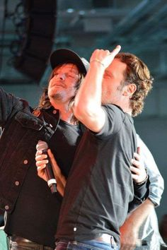 Norman and Andrew