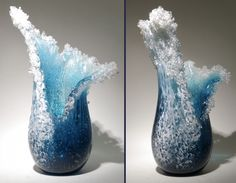 Wave Glass Vase