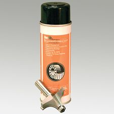 Fights friction and heat caused by high RPM's. Cleans and shields out dust to make bearing like new. aerosol can. Router Accessories, Router Woodworking, Router Bits, Safety, Cleaning, Security Guard, Home Cleaning