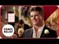 Simon Cowell's Wedding | Comic Relief - YouTube