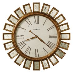 Have To Have It Howard Miller Solaris 32 In Wall Clock 397 6 Howard Miller Wall Clock Wall Clock Gallery Wall Clock