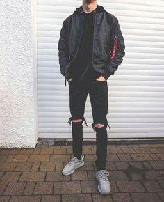 24 Ideas For Style Street Casual Men Streetwear - My Style Pillow Street Casual Men, Men Casual, Men Street, Mode Streetwear, Streetwear Fashion, Jean Shirt Men, Ripped Jeans Men, Men's Jeans, Outfit Sets