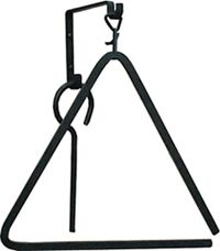 Small Wrought Iron Triangle Chime