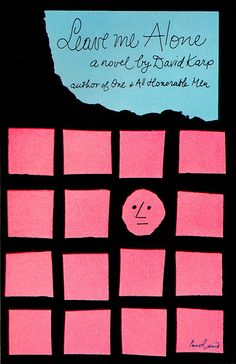 Paul Rand book cover illustration -- Leave Me Alone.
