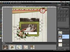 Digital Scrapbook Tutorial - Isolated - Selective Coloring