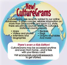 If you haven't heard about CultureGrams yet, you're missing out!!!