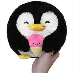 Mini Squishable Penguin Holding Ice Cream
