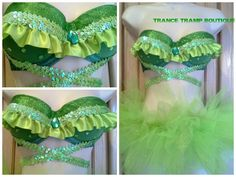 Tinkerbell/Tiana Costume on Etsy, $69.99