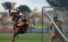 Lacrosse Video Game For Playstation 3, Xbox, and PC Now Live On Kickstarter