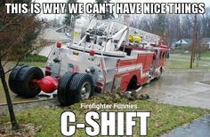 Fire fighter humor