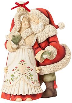 Enesco Heart of Christmas Gift Mrs. and Mrs. Claus W Mistletoe Figurine, 8.78-Inch Enesco http://www.amazon.com/dp/B00IDYV9WS/ref=cm_sw_r_pi_dp_KAvGub1CEKBDB
