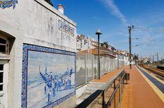 Aveiro train station (Central Portugal)