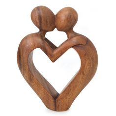 Wooden Statues, Wooden Figurines, Wooden Art, Abstract Sculpture, Wood Sculpture, Sculptures, Family Sculpture, Wood Carving Designs, Wood Carving Patterns