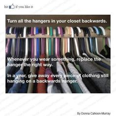 Great Tip to Keep your Closet Organized & Clean!     Need the best Office Supplies or Cleaning Supplies Cheap, please visit: www.discountcleaningproducts.com