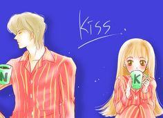 Itazura Na Kiss ~ Naoki Irie ~ Kotoko Itazura Na Kiss, Kiss Day, Kim Hongjoong, Unicorn Birthday Parties, Shoujo, Fairy Tail, Cute Couples, Love Story, Romantic