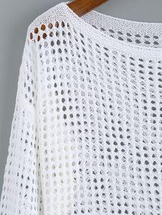 Diy Scarf, Crochet Magazine, Fashion Outfits, Womens Fashion, Baby Knitting, Knitwear, Knit Crochet, Tunic Tops, Crop Tops