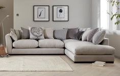 Discover our complete range of DFS fabric sofas in a host of 3 and 4 seater sofa styles. L Living Room Ideas, Living Room Sofa, Living Rooms, Lounge Decor, Lounge Ideas, L Sofas, Sofa Colors, Colours, Dfs Sofa