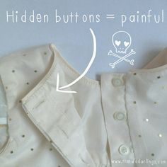 baby clothes tips and tricks the two darlings parenting blog ireland cork hidden button