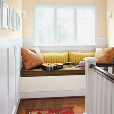 Window Ledge Seating all about window seats | mudroom, organizing and shelves