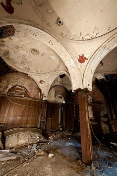 Once a lavish tasting room at Falstaff Brewery in St. Louis.