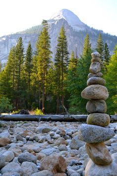 Rock stack.