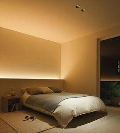 VERLICHTING ACHTER BED