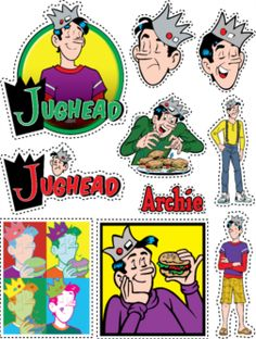 Archie Comics Stickers - Jughead!