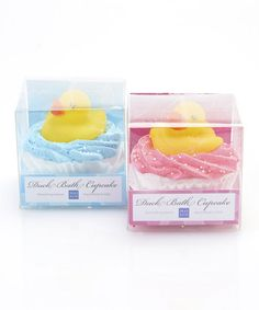 Great for a baby shower! Another great find on #zulily! Ducky Bubble Bath Cupcake Set #zulilyfinds Cupcake Bath Bombs, Cupcake Soap, Bubble Bath, Beauty Recipe, Bath Soap, Home Spa, Powder Room, Dyi, Bathroom