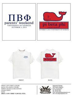 Pi Phi Shirt.